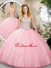 Beautiful  Sweetheart Quinceanera Dresses in Pink SJQDDT221002FOR