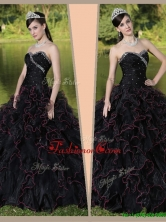 Beautiful Sweetheart Quinceanera Gowns with Ruffles Layered and Beading ZY781BFOR
