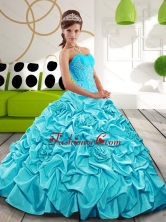 Beautiful Sweetheart Sweet 16 Dresses with Appliques and Pick Ups QDDTB26002-1FOR