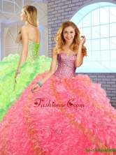 Best Selling Ball Gown Sweetheart Quinceanera Dresses for 2016 SJQDDT150002-2FOR