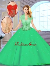 Best Selling Floor Length Sweetheart Quinceanera Gowns for 2016 SJQDDT145002-2FOR
