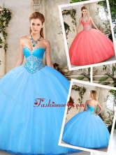 Exclusive Ball Gown Quinceanera Dresses with Beading SJQDDT219002-1FOR