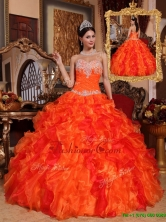 Gorgeous Ball Gown Appliques and Beading Quinceanera Dresses  QDZY061AFOR