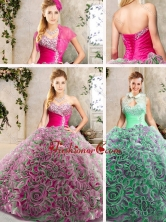 Luxurious Sweetheart Quinceanera Dresses with Brush Train SJQDDT211002-1FOR