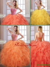 New Arrivals Fall Sweetheart Quinceanera Dresses with Floor Length SJQDDT173002FOR