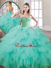 New Style Sweetheart Beading and Ruffles Quinceanera Gowns  SJQDDT172002-1FOR