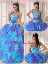 Perfect Ball Gown Floor Length Appliques Quinceanera Dresses  PDZY471AFOR