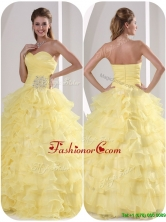 Luxurious Ball Gown Quinceaners Dresses with Appliques MQR50CFOR