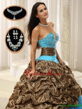 Luxurious  Sweetheart Quinceanera Dresses with Beading and Pick Ups  ZYLJ91403BFOR