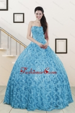 2015 Beautiful Sweetheart Ball Gown Quinceanera Dress in Baby Blue XFNAO023FOR