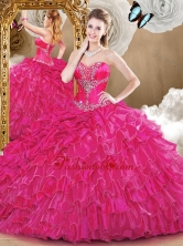2016 Gorgeous Sweetheart Quinceanera Dresses with Beading and Ruffles SJQDDT473002-1FOR
