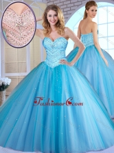 2016 Most Popular Ball Gown Baby Blue Quinceanera Dresses with Beading SJQDDT383002-1FOR