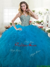 Best Selling Big Puffy Quinceanera Dress with Beading and Ruffles YYPJ063-1FOR