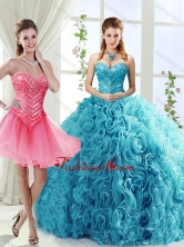 Classical Big Puffy Beaded Detachable Sweet 16 Dresses in Rolling FlowerSJQDDT556002AFOR