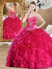2016 Fashionable Sweetheart Sweet 16 Dresses with Beading and Ruffles  SJQDDT470002-1FOR