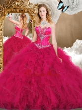 2016 Inexpensive Sweetheart Ball Gown Quinceanera Gowns with Ruffles SJQDDT474002-2FOR