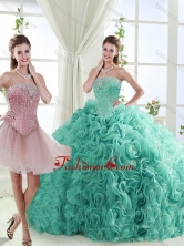 Popular Beaded Big Puffy Detachable Quinceanera Dresses in Rolling FlowerSJQDDT552002AFOR