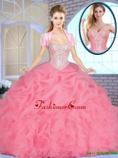Exclusive Sweetheart Quinceanera Dresses Beading and Ruffles SJQDDT156002FOR