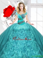 New Style Sweetheart Quinceanera Dresses with Lace Up SJQDDT129002FOR