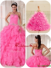 Recommended Ball Gown Strapless Quinceanera Gowns with Beading  PDZY724CFOR