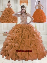 Fashionable Ball Gown Brush Train Quinceanera Dresses with Sweetheart XLFY091906B-16FOR