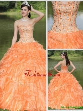 New Arrival Exquisite Beading and Ruffles Layered Quinceanera Gowns ZY728BFOR