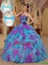 New Arrival Luxurious Ball Gown Sweetheart Quinceanera Dresses in Multi Color QDZY453BFOR