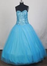2012 Exquisite Ball Gown Sweetheart Neck Floor-Length Quinceanera Dresses Style JP42652