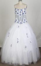2012 Pretty A-Line Straps Floor-Length Quinceanera Dresses Style JP42607