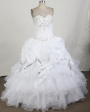 2012 Pretty Ball Gown Strapless Floor-Length Quinceanera Dresses Style JP42670