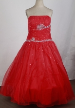 2012 Pretty Ball Gown StraplessFloor-Length Quinceanera Dresses Style JP42663