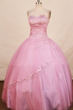 Elegant Ball Gown Sweetheart Floor-length Lavender Quinceanera dress Style FA-L-320