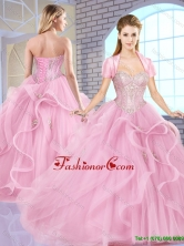Elegant Sweetheart Lace Up Quinceanera Dresses with Beading SJQDDT158002FOR