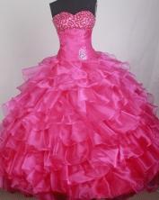 Exclusive Ball Gown Sweetheart Neck Floor-length Quinceanera Dress LZ426039