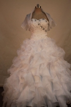 Formal Ball gown Sweetheart neck Floor-Length Quinceanera Dresses Style FA-Y-58