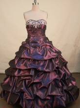 Gorgeous Ball Gown Sweetheart Floor-length Quinceanera dress Style X042458
