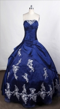 Lovely Ball Gown Strapless Floor-length Taffeta Quinceanera Dresses Style FA-C-72