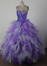 Pretty Ball Gown Sweetheart Floor-length Quincenera Dresses TD260012