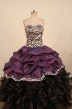 Pretty Ball gown Sweetheart neck Floor-Length Quinceanera Dresses Style FA-Y-62