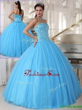 Pretty Sweetheart Ball Gown Beading Sweet 16 Dresses  PDZY690CFOR