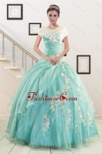 Ball Gown Sweetheart Cheap Quinceanera Dresses with Appliques XFNAO685AFOR