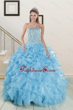 Brand new Beading Apple Green Quinceanera Dresses XFNAO5844FOR