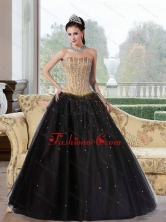 2015 Unique A Line Multi Color Quinceanera Dresses with Beading QDDTD15002FOR
