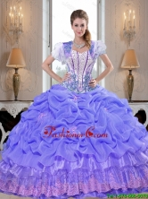 2015 Winter Top Seller Beaded Lavender Quinceanera Dresses with Appliques SJQDDT40002-1FOR