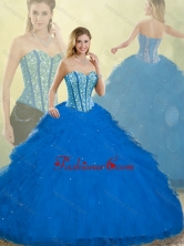 Fall Elegant Detachable Quinceanera Dresses with Ruffles and Beading SJQDDT253002FOR