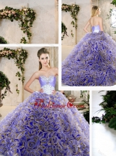 Hot Sale Ruffles Lavender Quinceanera Dresses with Beading SJQDDT209002-2FOR