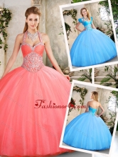 Latest Ball Gown Sweetheart Beading Quinceanera Dresses SJQDDT219002-2FOR