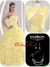 Unique Beading and Appliques Sweet 16 Dresses for Fall  MQR50EFOR