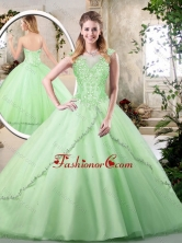 Unique Sweetheart Quinceanera Dresses in Apple Green SJQDDT222002FOR