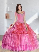Lovely Beading Quinceanera Dresses in Multi Color for 2015 SJQDDT37002FOR